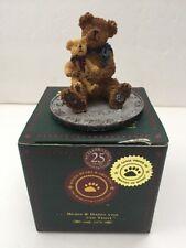 Boyds Bears & Friends Bearstone Collection Elder & Newton...Bestest Friends 2004