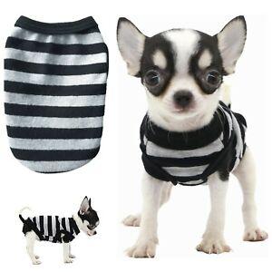 XXXXS XXXS XXS Chihuahua Clothes Teacup Tiny TOY Soft PJS Puppy Dog Coat Vest