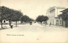 brazil, PARÁ, Estrada de Nazareth, Tram (1899)