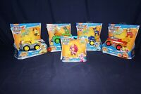 PAW PATROL MIGHTY PUPS SUPER DELUXE VEHICLE CHASE MARSHALL RUBBLE ROCKY SKYE