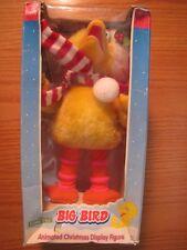 Sesame Street Christmas Display Big Bird Plush Decoration With Box