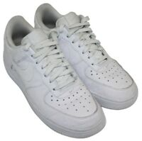 Nike Air Mens White Dotted Casual Athletic Lace Up Sneakers Shoes Size 6