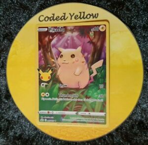 005/025 Pikachu | Pokémon SWSH Celebrations 25th Anniv | FULL ART Card | N/M