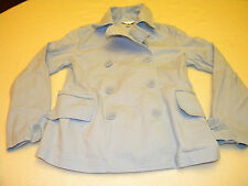 Talbots Womens Long Sleeve Button up Jacket Size 6 Blue