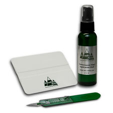 Vinyl Decal Installation Kit - Vehicle Application Fluid & Squeegee - Large