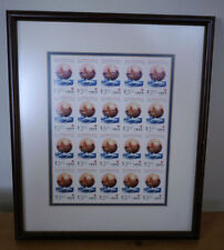 Framed Mounted 1997 HONG KONG SAR (20) $3.10 Commemorative STAMPS Dolphin Boat