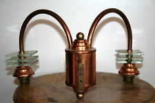 lampe applique années 30 40 moderniste design streamline bronze byni petitot ?
