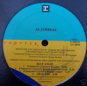 "AL JARREAU ~ Blue Angel 7 x MIXES - 12"" Single USA PRESS"