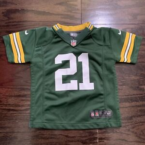 Nike GREEN BAY PACKERS #21 Charles Woodson NFL FOOTBALL JERSEY YOUTH Size Small