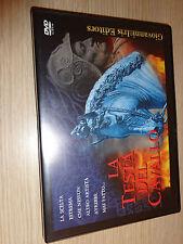 DVD LA TESTA DEL CAVALLO ANDREA VERROCCHIO FICTION ARTISTA RINASCIMENTO