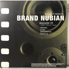 "BUCKWILD + BRAND NUBIAN + D.I.T.C. - ROCKIN' IT / SPEND IT (12"")  2000!!  RARE!!"