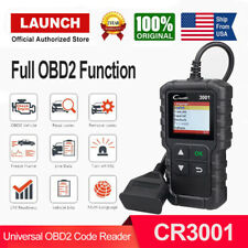 OBD Code Reader OBD2 Scanner Check Engine Fault Diagnostic Tool Launch CR3001