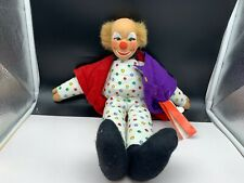 Sigikid Stofftier Sammler Clown Puppe 50 cm. Top Zustand