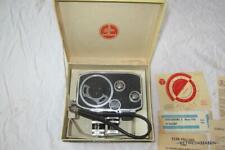 VTG Bolex Paillard B8 Cine Movie Camera 8MM Kern Paillard Lenses + Original Box