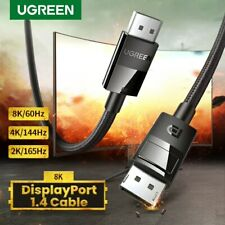 Ugreen Displayport 1.4 Cable for Xiaomi Mi Box 8K/60Hz High-Speed DP Fr Gaming