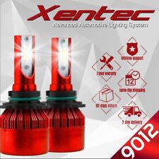 XENTEC LED HID Headlight Conversion kit 9012 6000K for 2013-2015 Dodge Dart
