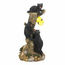 NEW Cute Bear Collectors Gift Lawn Ornaments Climbing Bears Solar Light 12