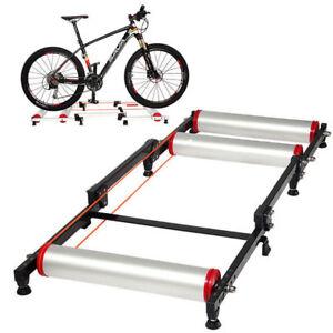 "ROCKBROS MTB Road Bike Roller Trainer Stand Indoor Folding Trainer for 16-29"""