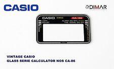 VINTAGE GLASS CASIO CA-86 NOS