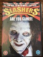 Sarah Joslyn Crowder SLASHERS ~ Cult Chainsaw Charlie Horror / Thriller UK DVD