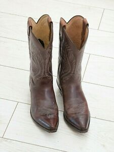 Sendra Boots Cowboy boots Style No. 2605 Brown size 11 worn three times great