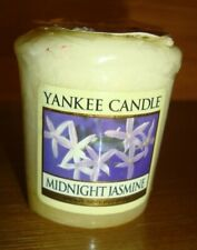 YANKEE CANDLE MIDNIGHT JASMINE VOTIVE OLD LABEL NEW SEALED