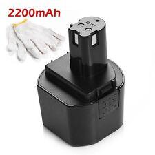 9.6V 2.2Ah Battery For Ryobi  HP962 RY961 1400669 CTH962K HP961Drill & Driver
