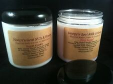 Silky VANILLA SANDALWOOD* Goat Milk Honey Hand Body Cream Lotion by NOOPY'S 8 oz