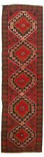 """Hand-knotted Carpet 2'7"""" x 9'11"""" Traditional Vintage Wool Rug"""