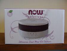 NOW Solutions Ultrasonic Dual Mist Oil Diffuser 8.45 fl. oz Capacity