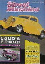 Street Machine Magazine November 1987 Vol.9 No.7