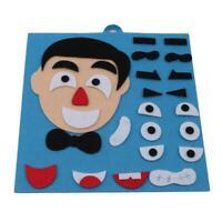 Five Sense Organs Assembling Puzzles Parents Kids Toy Child Education Toy HO3