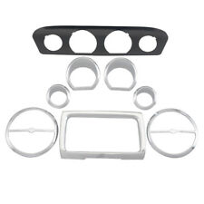 8 x Gauge Bezel Trim Mount Plate For Harley Touring Electra Street Glide 2014-Up