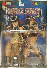 "Ricky C's Double Impact Crystal Edition Jazz 6"" Action Figure 1998 Lightning SB"
