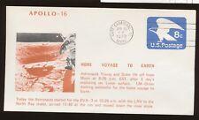 Apollo 16 - Lift off, Home Voyage to Earth, Cape Canaveral FL  Apr 23, 1972