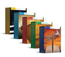 ALPHA OMEGA LIFEPAC COMPLETE 5 SUBJECT SET GRADE 4 - Textbook Bundle, Kit NEW!