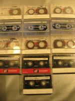 15x Sony 90er.Audiokassetten MC's Leerkassetten Tapes bespielt