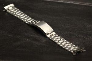Band for Seiko Panda 6138-8020 6138-8021 Bracelet with Z027 end links 6138 Strap