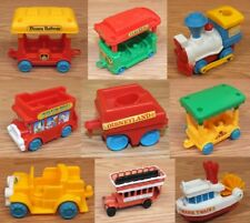 Vintage (Choice of) Disneyland Mickey Mouse Playmates Railway Toy Vehicles