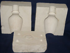"Vintage Ceramic Pottery Slip Casting Mold - 5 1/2"" Plain Smooth Vase"
