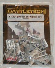 Battletech Ral Partha Miniature Bt 824 Davion Infantry (84)