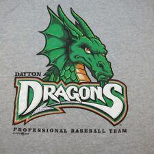 DAYTON DRAGONS MINOR LEAGUE BASEBALL TEAM T SHIRT Mens M Minors Cincinnati Reds