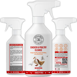 Chicken and Poultry Cleanse Mite and Lice Spray 500ml