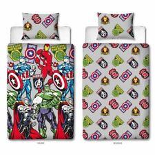 Marvel Avengers Shield Single Duvet Cover & Pillowcase Set