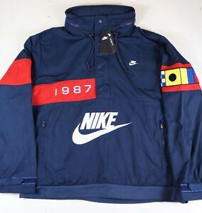 Nike NSW Reissue Walliwaw Mens Size 2XL Anorak Jacket Woven Retro Pullover New