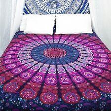 Queen Bedspread Hippie Indian Mandala Bedding Bohemian Bed cover Throw Blanket