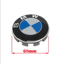 4 X 68mm Alloy Wheel Center Caps for BMW All Series Black Hamann Logo