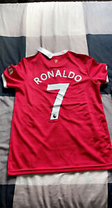 Maillot Manchester United domicile Ronaldo 2021/22 Neuf M