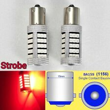Strobe 1156 P21W 7506 63 LED Projector Red Bulb Backup Reverse Light B1 For Euro