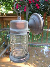 Antique Cottage Jelly Jar/Barrel Caged COPPER  Front Door Porch Light~ Fixture
